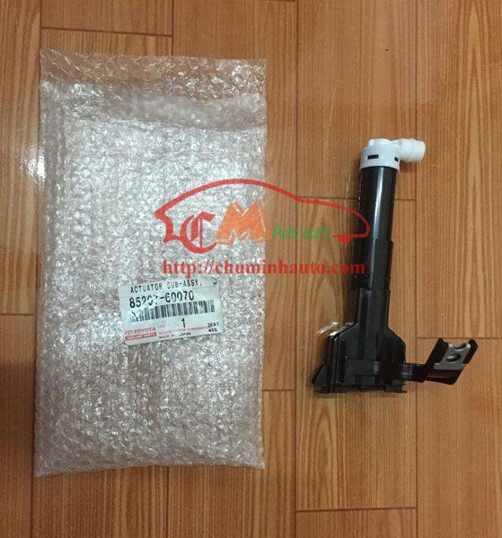 Vòi phun nước rửa đèn Lexus LX450/460/570: 85207-60070 chính