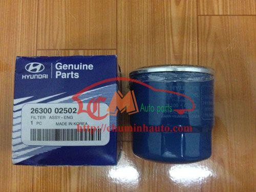 Lọc nhớt, Lọc dầu Hyundai Accent, Getz, I20, KIA Morning, Pride, Spectra hàng xịn chính hãng Mobis