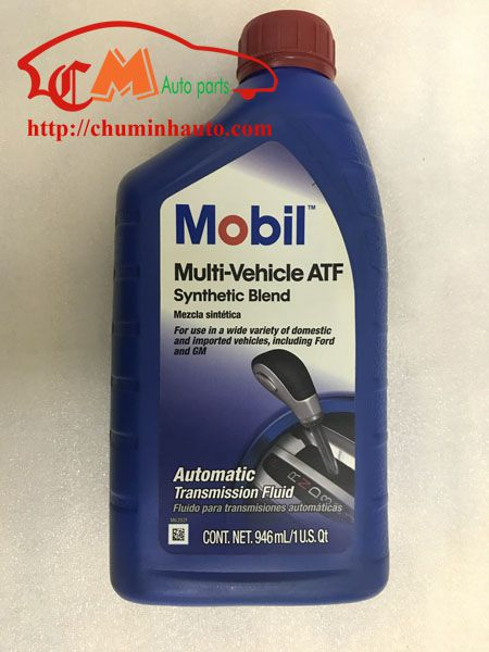 Dầu hộp số tự động Mobil Multi Vehicle ATF tổng hợp toàn phần