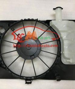 Bình nước phụ liền lồng quạt két nước Hyundai Elantra, KIA K3