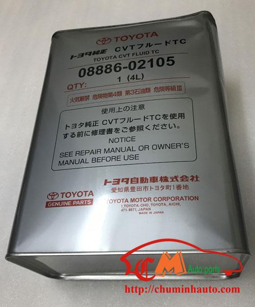 Nhớt, Dầu hộp số tự động CVT Toyota, Lexus chính hãng