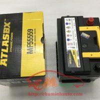 Bình ắc quy khô Atlas 55AH hàng xịn chính hãng Korea: MF55559