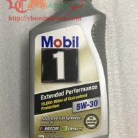 Dầu nhớt động cơ Mobil 1 5W-30 tổng hợp toàn phần chính hãng USA